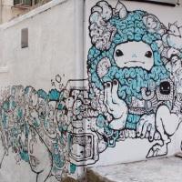 Bao Ho et ses fun créatures colorent Hong Kong