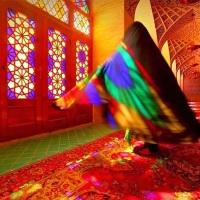 """Images: """"La mosquée Rose"""" d'Iran"""