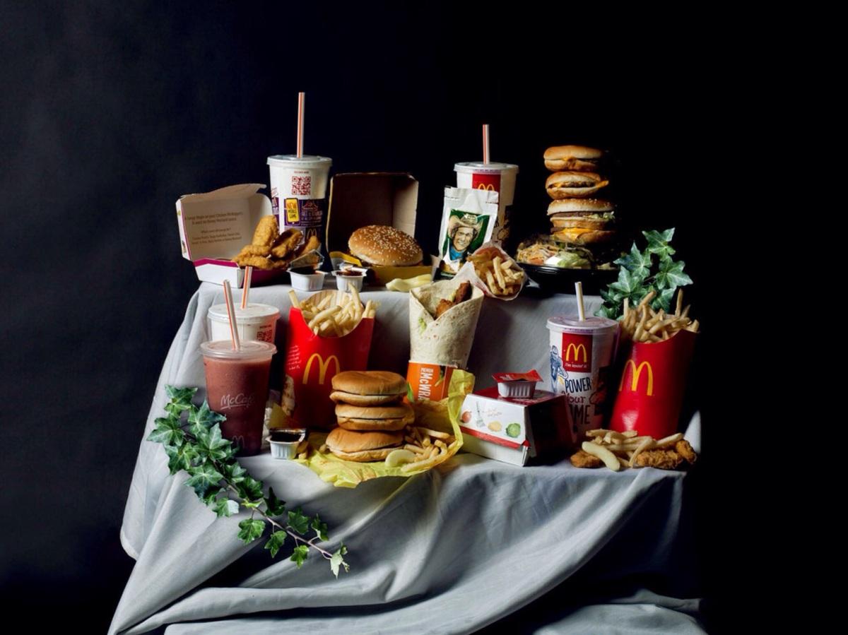 La Junk Food sacralisée, Leonard de Vinci aurait mangé Mcdo?