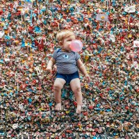 "Adieu au ""Gum Wall"", le mur de chewing-gums de Seattle"
