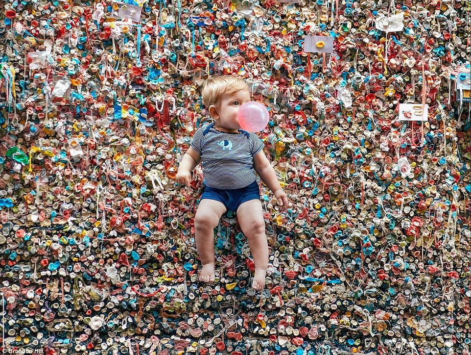 Nettoyage au karcher du gum wall