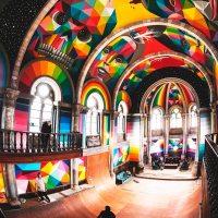 Kaos Temple - L'église démente où prêchent street art et skateboard