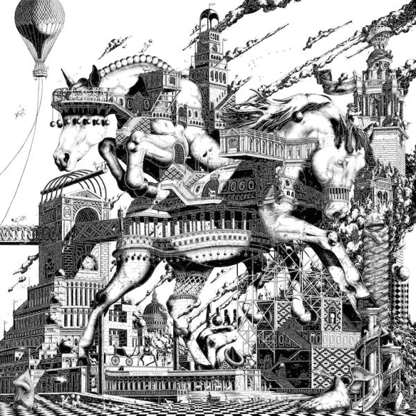 """Design """"hippopolis"""", carré d'Hermès, par Ugo Gattoni"""