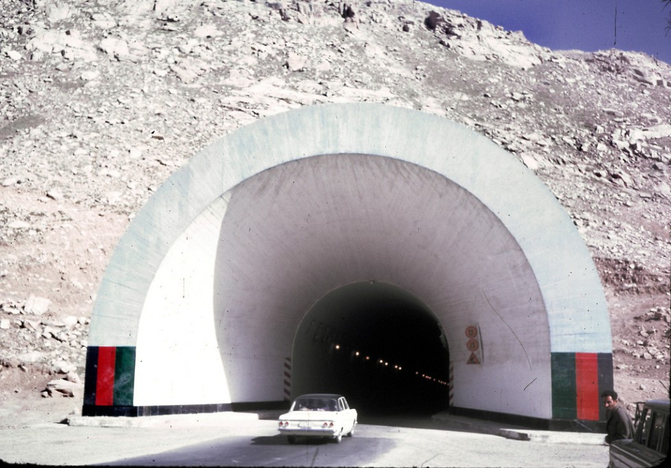 """The Salang Tunnel, located in Parwan province, is a link between northern and southern Afghanistan crossing the Hindu Kush mountain range under the difficult Salang Pass. The Soviet-built tunnel opened in 1964."""