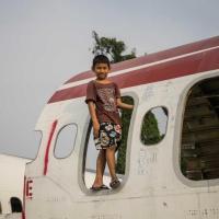 En images : Les avions abandonnés de Bangkok, résidences de la pauvreté