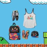 Coup d'oeil sur la collab rétro-geek de Vans X Nintendo